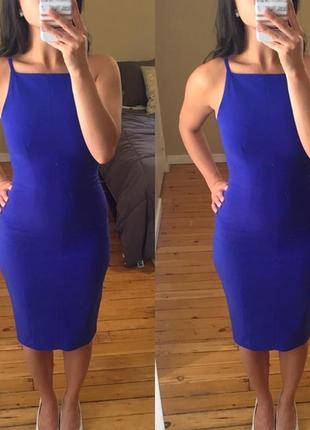 Красивое миди платье h&m