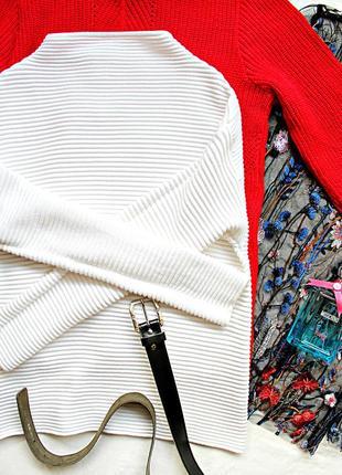 Распродажа! белоснежный свитер 😍 джемпер реглан худи свитшот h&m