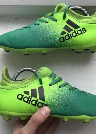 Adidas x16.3 techfit 38-37p полупрофессиональные копочки оригинал