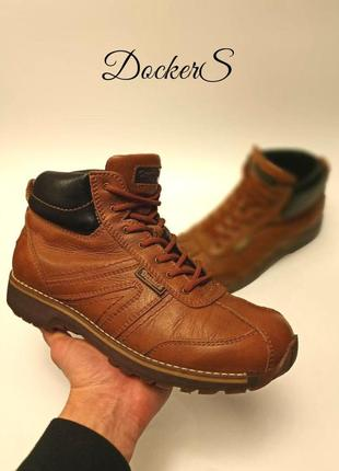 Кожаные ботинки dockers оригинал