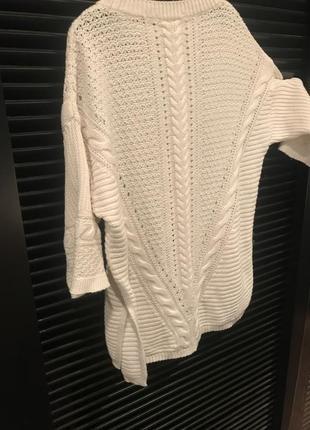 Oasis свитерок белый стильный летний
