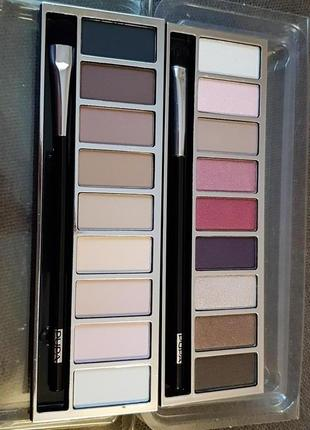 Тестер палетка pupa pupart eyeshadow palette