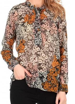 Шифоновая блуза нм
