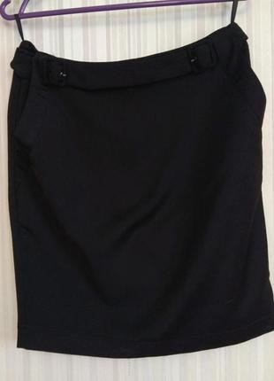 Черная строгая юбка befree р. 34