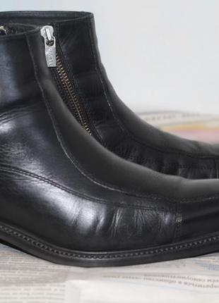 Зимние ботинки на цигейке lloyd 41-42 разм. натуральная кожа