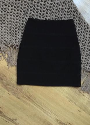 Черная базовая юбка от topshop