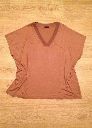 Стильная футболка кофта /классика / m&s collection / 5-6 xl