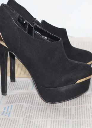 Ботильоны женские your feel looc gorgeous ботинки, лабутены 36-37