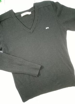 100% шерстяной свитер