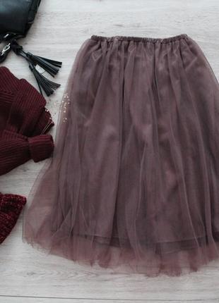 Волшебная фатиновая юбка