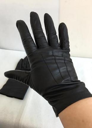 Перчатки кожаные, натуральная кожа