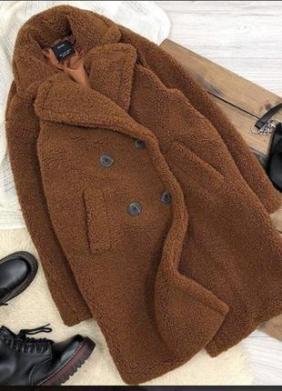 Шуба ,пальто искусственная хит