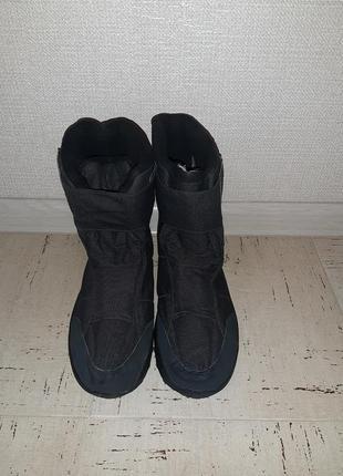 Мужские сапоги, дутики в отличном состоянии, размер 44-45