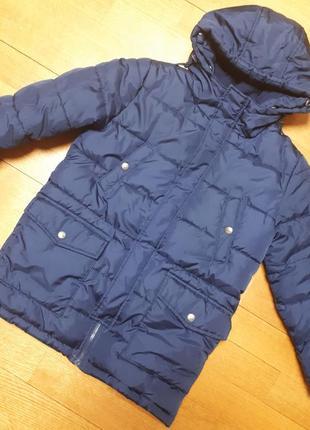 Куртка зимняя- парка на мальчика, рост 128