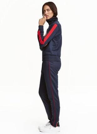 Спорт.костюм с лампасами и замочками