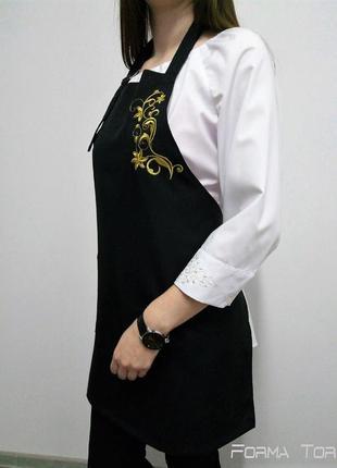 Фартук с вышивкой арт6012
