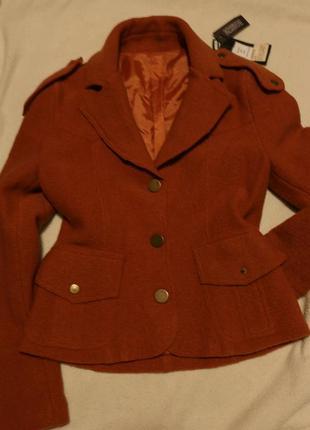 Шерстяной жакет, пиджак