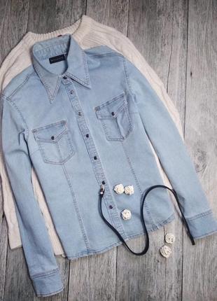 Базовая джинсовая рубашка от biaggini