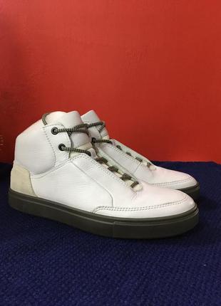 Мужские полуботинки высокие кеды ecco kyle street boot р-40 (26,5 см)