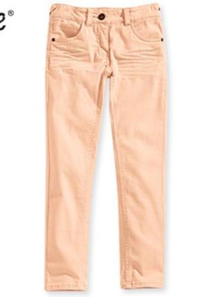 Персиковые джинсы брюки для девочки alive германия, р-ры 116, 128, 152, 164 см