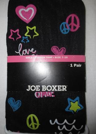 Лосины joe boxer (usa) с рисунком ,7-10,40ден