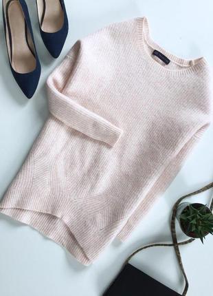 Теплая шерстяная кофта свитер
