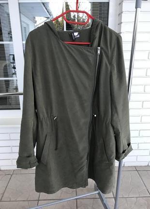 Очень крутой и стильный тренч плащ накидка куртка лёгкая