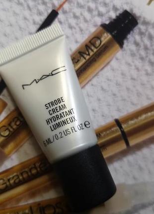 Mac strobe cream крем с эффектом сияния / хайлайтер 6 мл., миниатюра