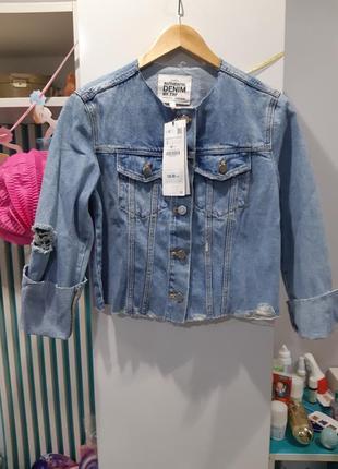 Крута джинсова куртка zara