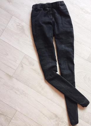 Джинсы темно-серого цвета на резинке yes yes