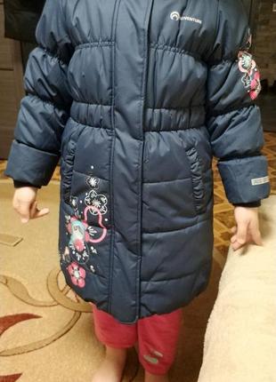 Продам зимнее пальто на девочку. 💣💣👍