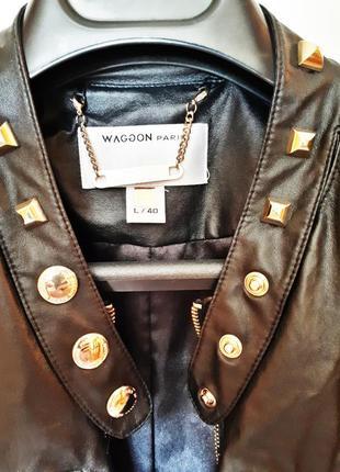 Кожаная куртка  wagon