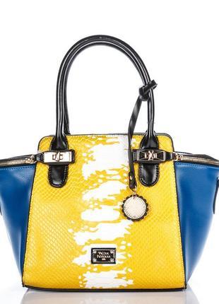 Роскошная женская сумка модель 2019 velina fabbiano оригинал, отличный подарок.