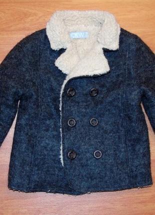 Шерстяное пальто,куртка,курточка,дубленка под zara,86,92,18-24 мес.,1,5-2 года