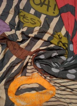 Фирменный платок косынка шаль шарф codello