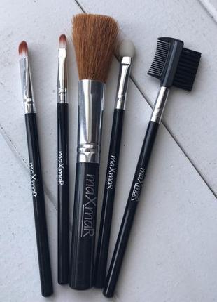 Набор кистей для макияжа maxmar