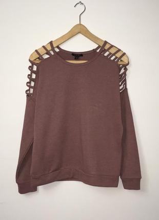 Шикарный свитер с открытыми плечами, джемпер, реглан , с вырезами на плечах