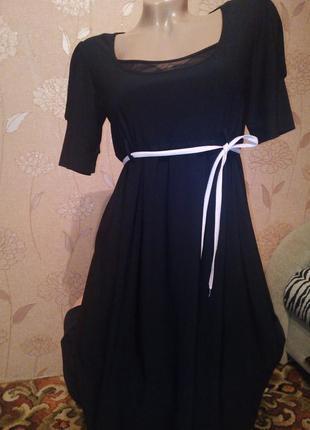 Платье свободного кроя 46-48