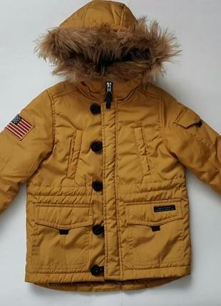 Куртка парка zara 4-5 років (110)