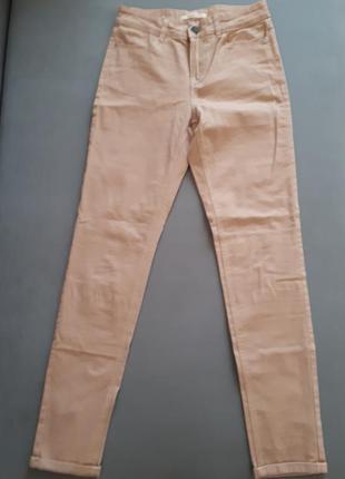 Штаны джинсы бархатная ткань 34 размер/xxs