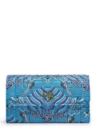 Яркий фирменный кошелёк henri bendel