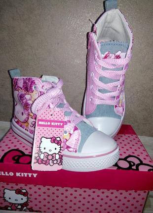 Кеди hello kitty1 фото