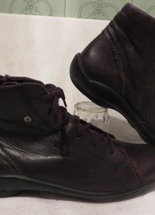 Ботинки кожа wolky 42 размер