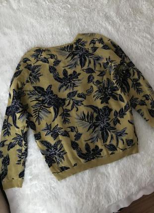 Стильный свитер джемпер пуловер актуального цвета размер s m