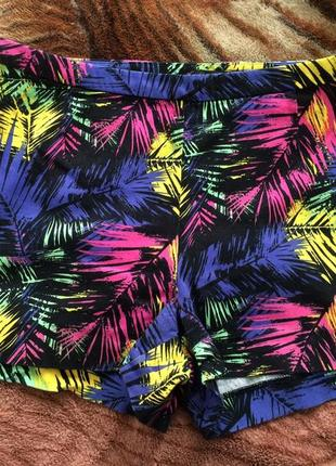Шорты короткие, разноцветные/kira plastinina