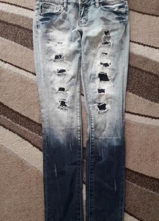 Рвані джинси  xs-s