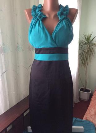 Платье карандаш, нарядное на подкладке/ турция