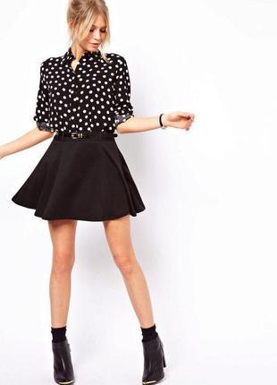 Базовая юбка-солнце 🖤