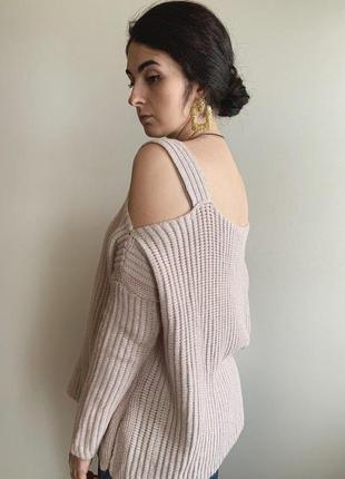 Розовый свитер от new look