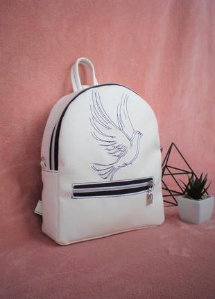 """Интересный рюкзак handmade """"3d голубь"""""""